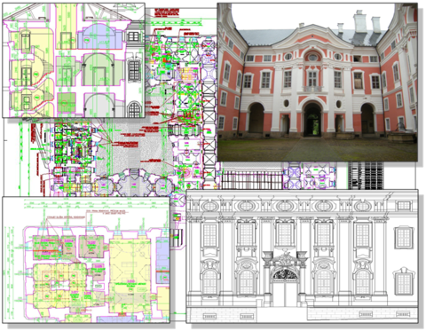 Kulturowe i edukacyjne centrum Broumov - modernizacja klasztoru