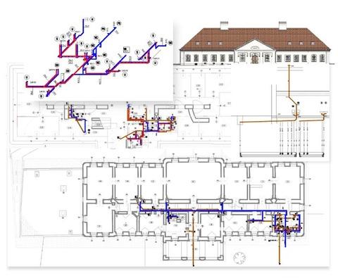 Stavebné úpravy NKP- kaštieľ a sýpka