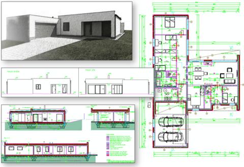 Novostavba Rodinného domu KLIMKOVICE