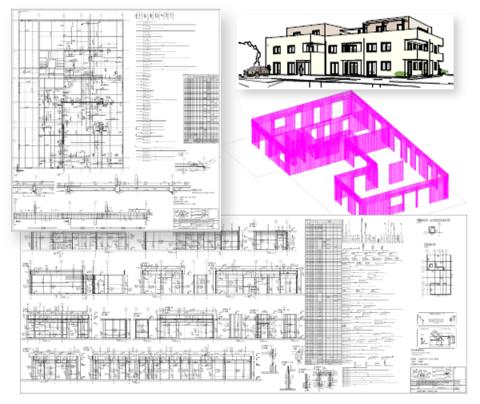 Novostavba bytového domu, Regau
