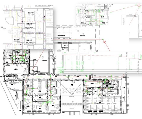 Stavené úpravy časti pavilónu - H na ambulancii klinickej onkológie